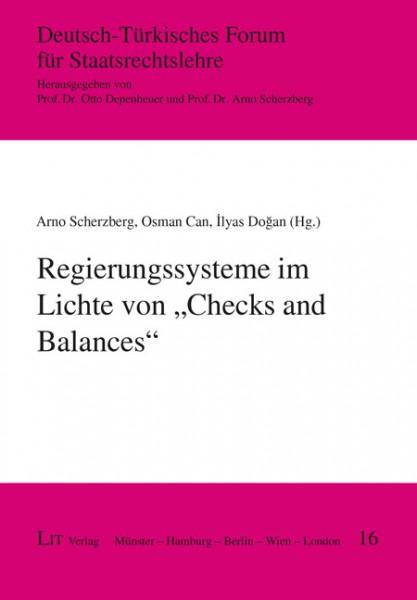 """Regierungssysteme im Lichte von """"Checks and Balances"""""""