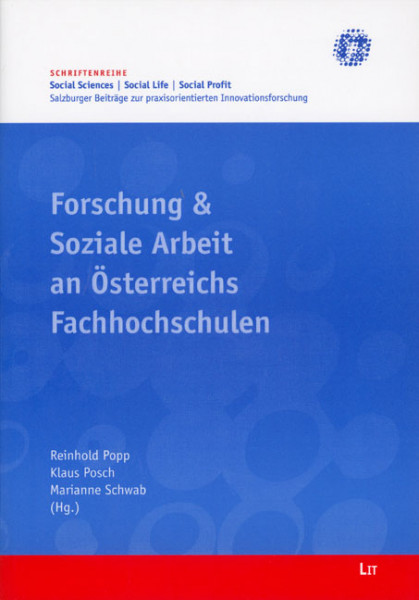 Forschung & Soziale Arbeit an Österreichs Fachhochschulen