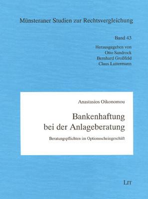 Bankenhaftung bei der Anlageberatung