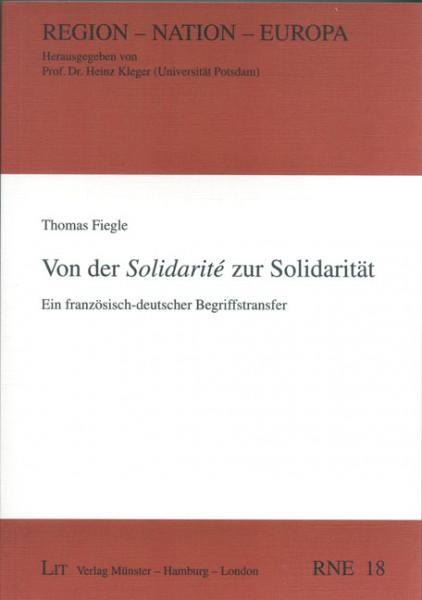 Von der Solidarité zur Solidarität