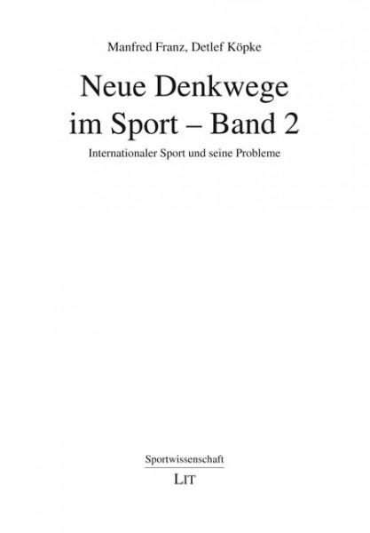 Neue Denkwege im Sport - Band 2