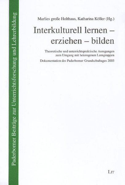Interkulturell lernen - erziehen - bilden