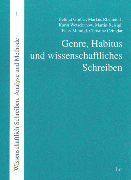 Genre, Habitus und wissenschaftliches Schreiben
