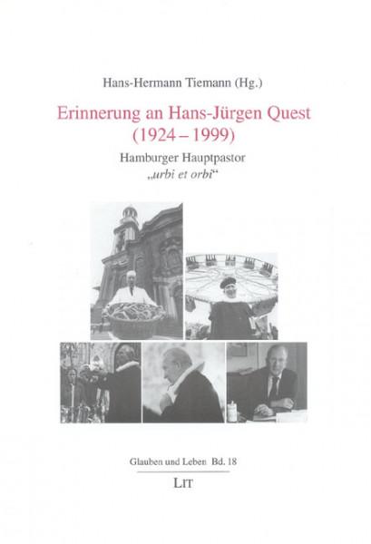 Erinnerung an Hans-Jürgen Quest (1924-1999)