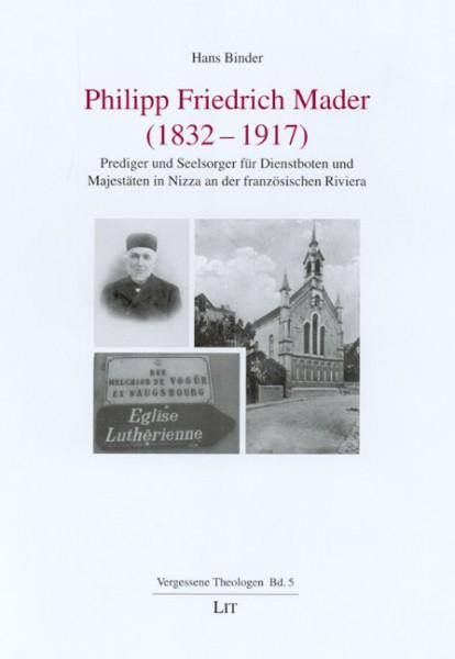 Philipp Friedrich Mader (1832 - 1917)