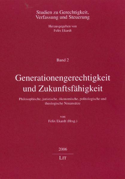 Generationengerechtigkeit und Zukunftsfähigkeit