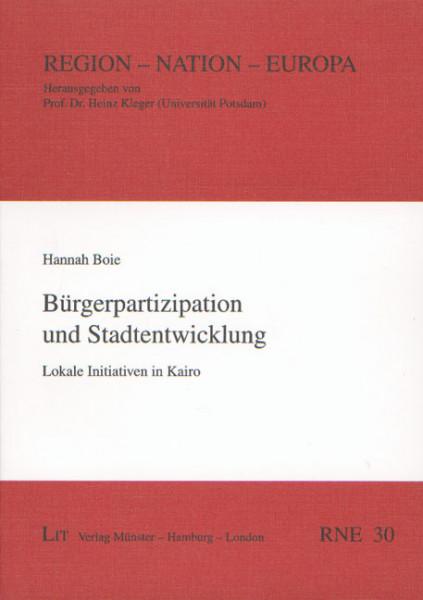 Bürgerpartizipation und Stadtentwicklung
