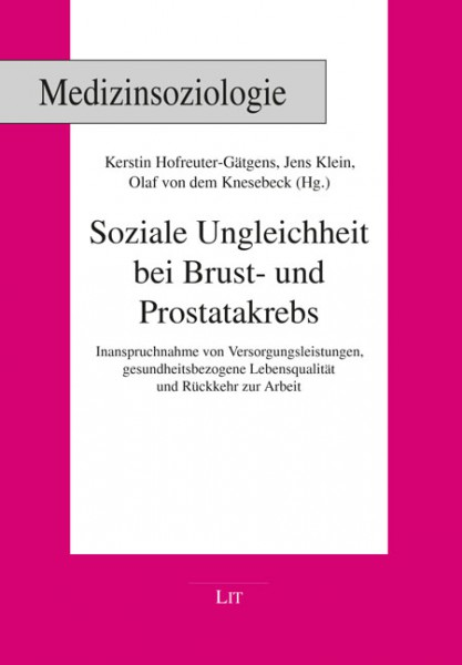 Soziale Ungleichheit bei Brust- und Prostatakrebs