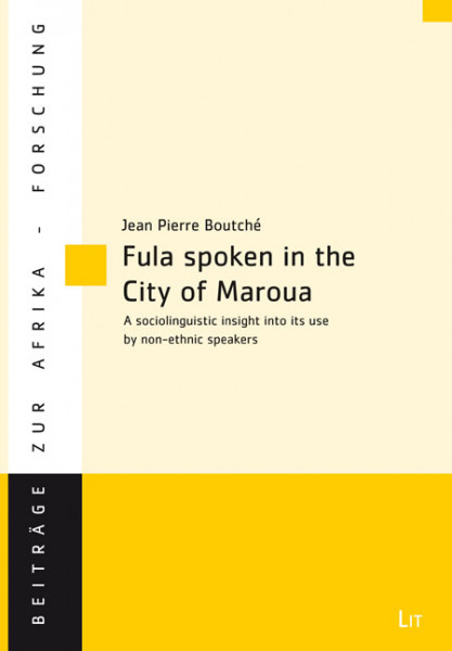 Fula spoken in the City of Maroua (Northern Cameroon)