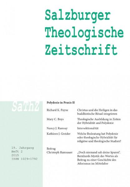 Salzburger Theologische Zeitschrift 19. Jahrgang, 2. Heft 2015