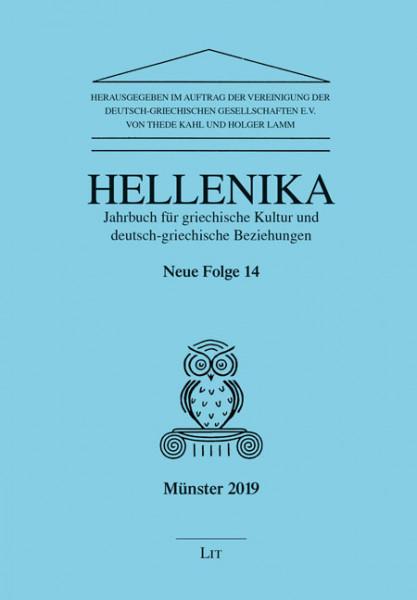 Hellenika. Jahrbuch für griechische Kultur und deutsch-griechische Beziehungen