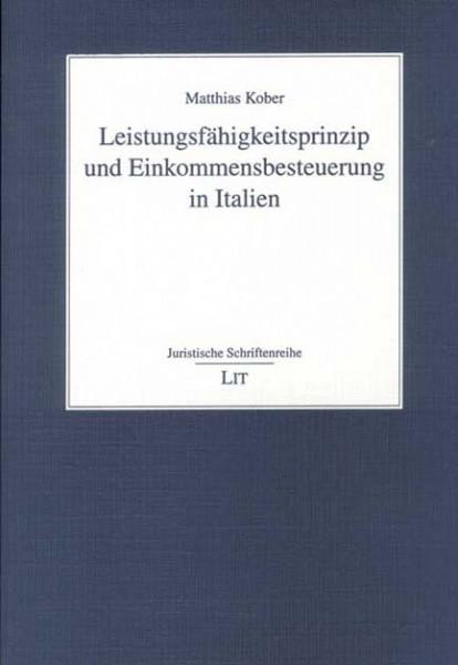 Leistungsfähigkeitsprinzip und Einkommensbesteuerung in Italien