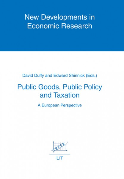 Public Goods, Public Policy and Taxation