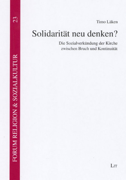 Solidarität neu denken?