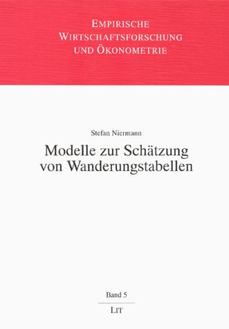 Modelle zur Schätzung von Wanderungstabellen