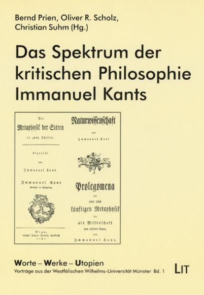 Das Spektrum der kritischen Philosophie Immanuel Kants