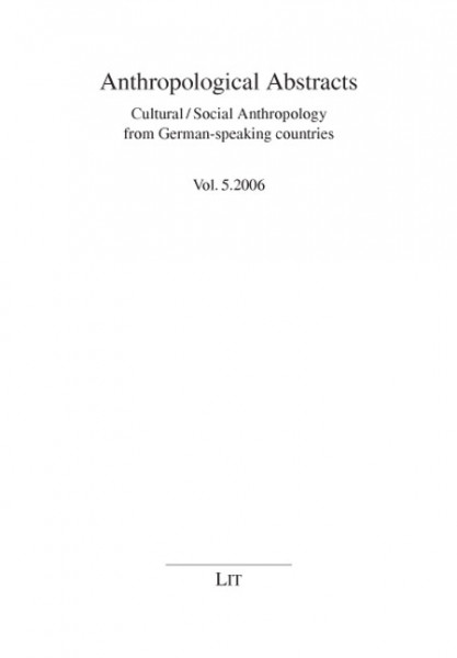 Anthropological Abstracts 5/2006