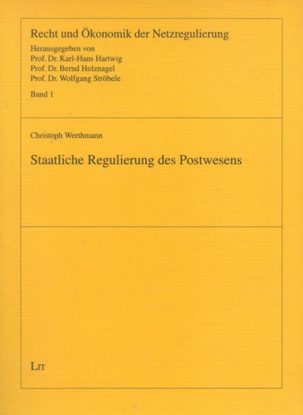 Staatliche Regulierung des Postwesens