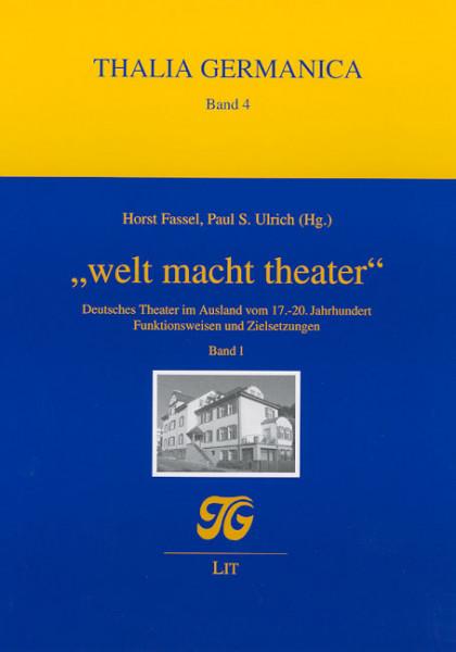 """welt macht theater"""
