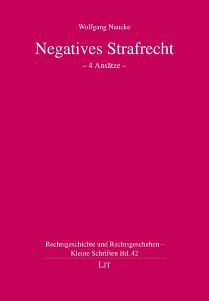 Negatives Strafrecht