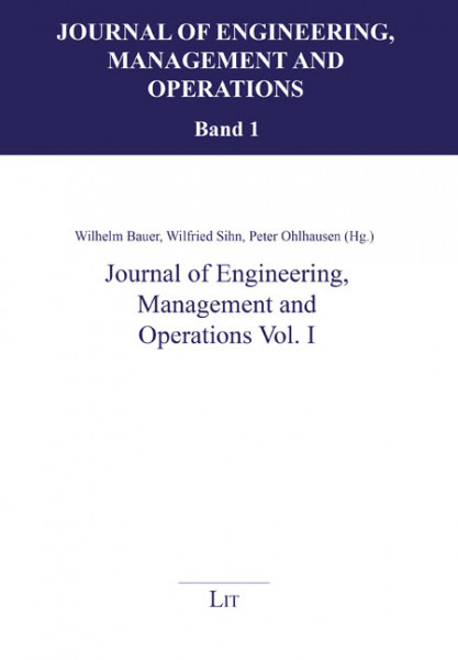 Journal of Engineering, Management and Operations Vol. I