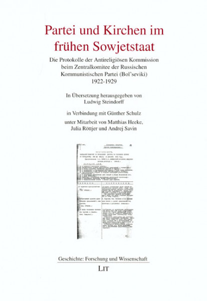 Partei und Kirchen im frühen Sowjetstaat