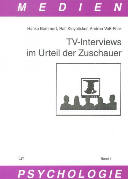 TV-Interviews im Urteil der Zuschauer