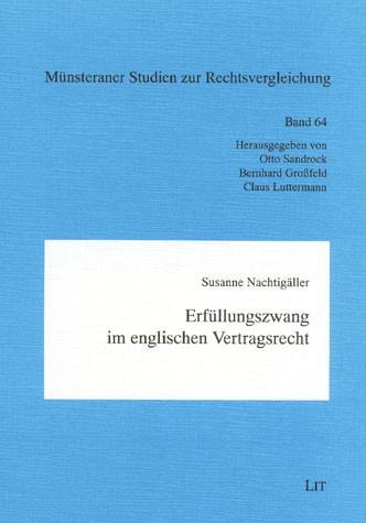 Erfüllungszwang im englischen Vertragsrecht
