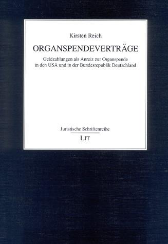 Organspendeverträge