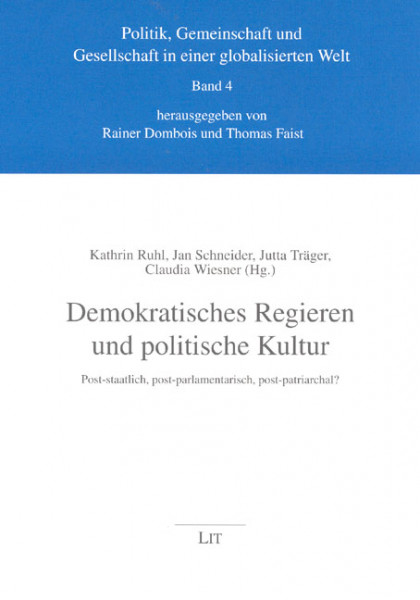 Demokratisches Regieren und politische Kultur