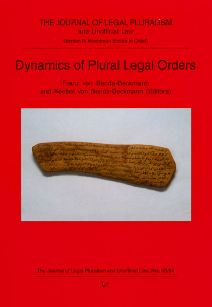 Dynamics of Plural Legal Orders