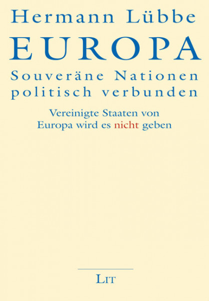Europa - Souveräne Nationen politisch verbunden