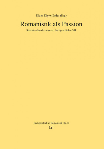 Romanistik als Passion