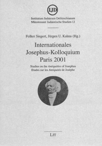 Internationales Josephus-Kolloquium Paris 2001