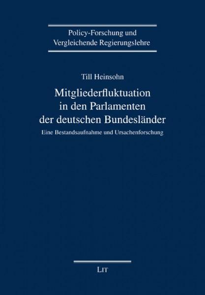 Mitgliederfluktuation in den Parlamenten der deutschen Bundesländer