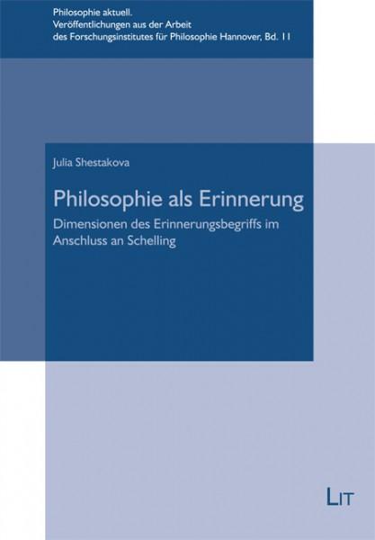 Philosophie als Erinnerung