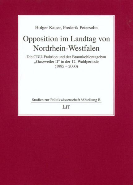 Opposition im Landtag von Nordrhein-Westfalen