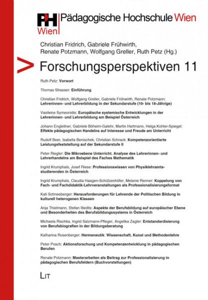 Forschungsperspektiven 11