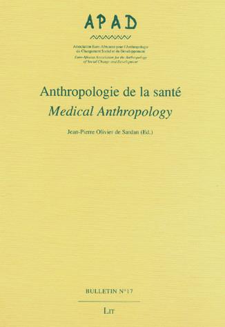 Anthropologie de la santé Medical Anthropology