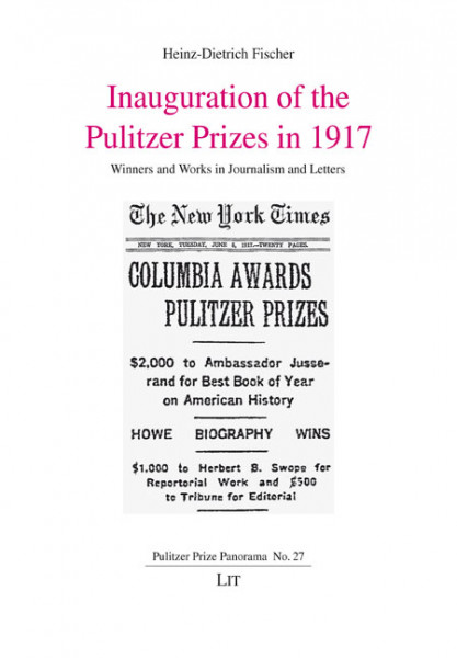 Inauguration of the Pulitzer Prizes in 1917