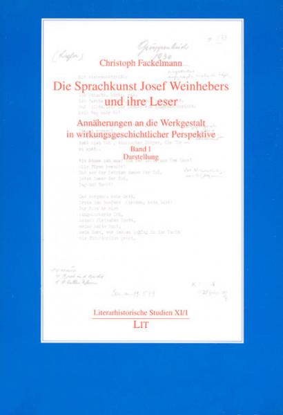 Die Sprachkunst Josef Weinhebers und ihre Leser