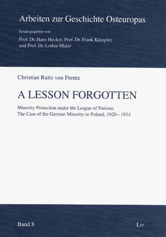 A Lesson Forgotten