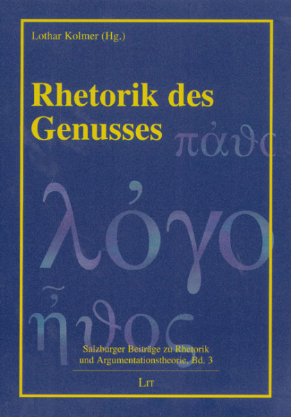 Rhetorik des Genusses