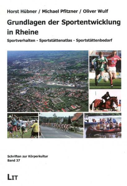 Grundlagen der Sportentwicklung in Rheine
