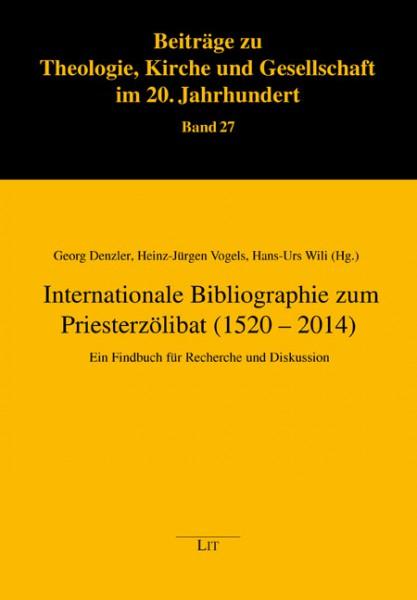 Internationale Bibliographie zum Priesterzölibat (1520 - 2014)