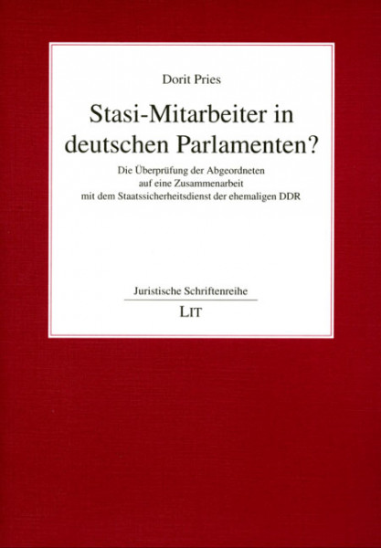 Stasi-Mitarbeiter in deutschen Parlamenten?