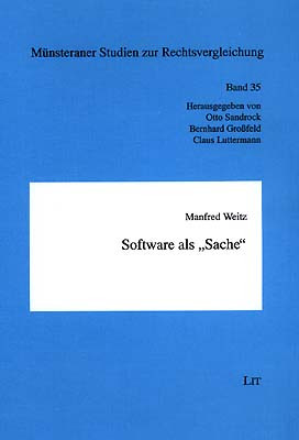 "Software als ""Sache"""