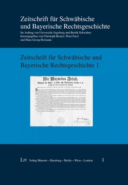 Zeitschrift für Schwäbische und Bayerische Rechtsgeschichte 1