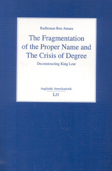 The Fragmentation of the Proper Name and The Crisis of Degree