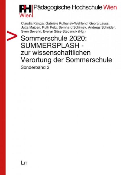 Sommerschule 2020: SUMMERSPLASH - zur wissenschaftlichen Verortung der Sommerschule